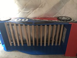 Used Wooden Race Car Bed for Sale in Hopkins, SC