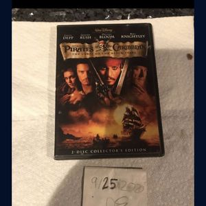 Pirates Of The Caribbean DVD for Sale in Fort Lauderdale, FL