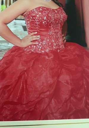 Red Quinceanera dress for Sale in CHAMPIONS GT, FL