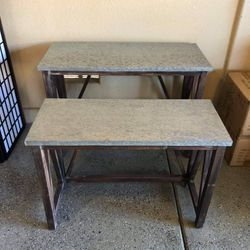"""Brand New Nesting Accent Tables Set of 2 (Large: 42""""x18""""x30"""" Small: 36""""x15""""x26"""") 👉🏼 Please Read Description 👀 for Sale in North Las Vegas,  NV"""