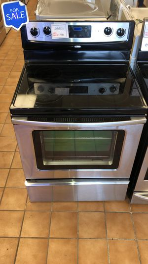 NO CREDIT!! Whirlpool LOWEST PRICES! Electric Stove Oven 30in Wide #1575 for Sale in Maryland City, MD