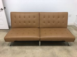 Leather Futon for Sale in Miami, FL