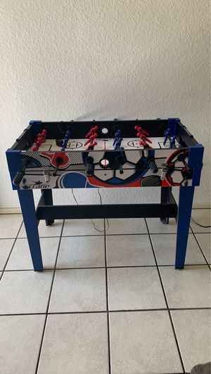 Foosse ball/Air Hockey/ Table for Sale in Murrieta, CA