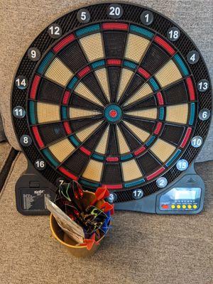Electronic dart board for Sale in Tempe, AZ