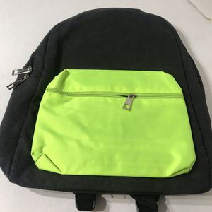 Boohoo man nylon backpack with contrast pack black for Sale in Los Angeles, CA