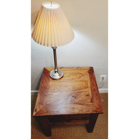 Solid Beautiful End Table