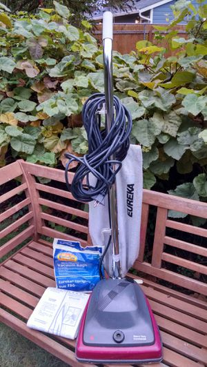 Eureka heavy duty commercial vacuum. 36 foot cord. Top cord bracket needs replacing. for Sale in Portland, OR