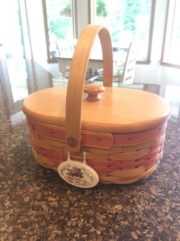 1999 Longaberger Mother's Day Basket