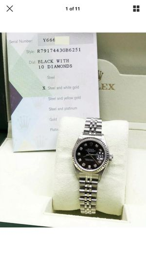 Rolex Datejust Ladies Factory Diamond Dial for Sale in Fontana, CA
