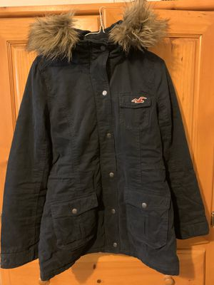 Hollister jacket: Navy Blue Parka for Sale in E RNCHO DMNGZ, CA