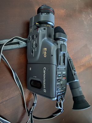 Canovision 8 E40 8mm video camcorder for Sale in Charlotte, NC