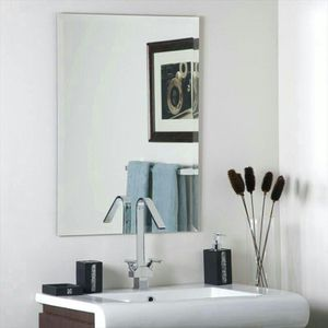 Large frameless wall mirror for Sale in Takoma Park, MD