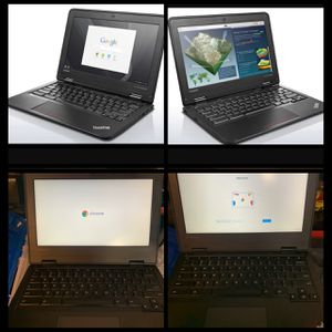 Lenovo ThinkPad laptop/notebook/chromebook great for students long lasting battery for Sale in Orange, CA