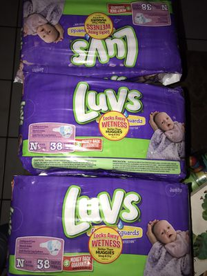 Luvs diapers new for Sale in Rowland Heights, CA