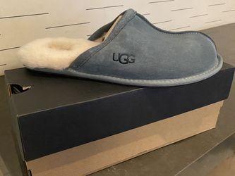 Ugg Men's Scuff Slipper Light Grey for Sale in Brooklyn,  NY