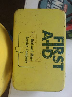 First aid box from mine company for Sale in Princeton, WV