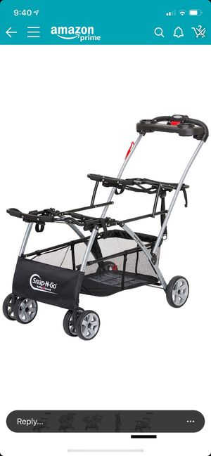 Snap N Go double stroller for Sale in Fresno, CA