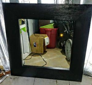 Big black wall mirror for Sale in Oakland Park, FL