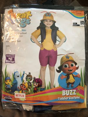 New Beat Bugs Toddler Costume S 2T/3T Halloween Costume for Sale in Fontana, CA