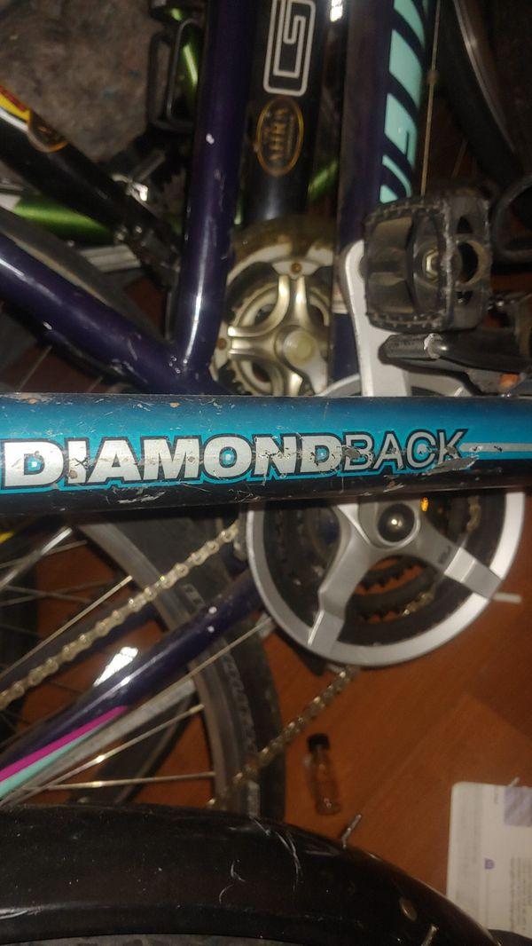 TREK,DIAMONDBACK,CANNONDALE, HUFFY, SCHWINN, MONGOOSE