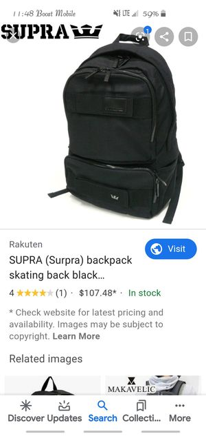 Supra Backpack for Sale in San Angelo, TX