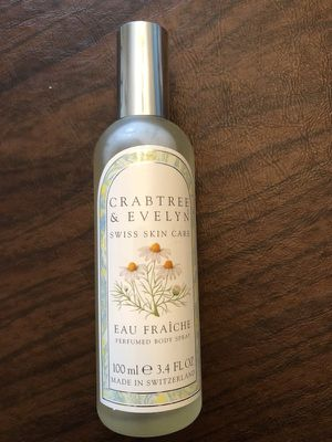 3.4 oz Crabtree and Evelyn perfumed body spray for Sale in Pittsburgh, PA