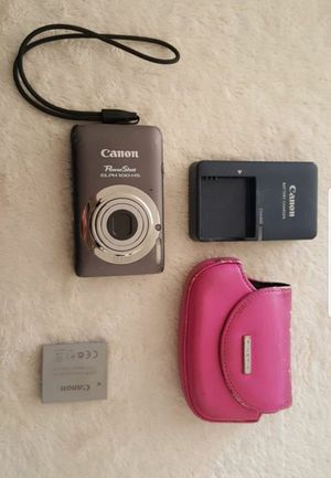 Canon PowerShot ELPH 100 HS 12 MP CMOS Digital Camera with 4X Optical Zoom (Silver) for Sale in Henderson, NV