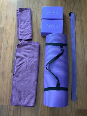 New yoga set for home workouts 🧘‍♀️ for Sale in San Francisco, CA