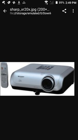 300 inch multi projector for Sale in Kingsport, TN