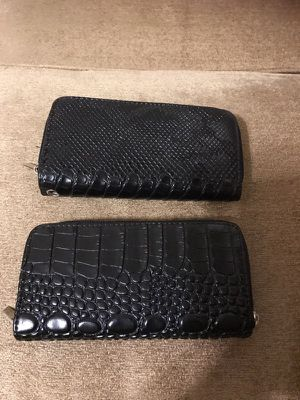 2black wallets for Sale in Baltimore, MD
