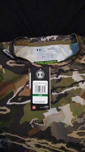 Under armour camo shirt for Sale in Aurora, CO