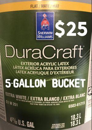 Exterior FLAT extra white DuraCraft paint. for Sale in Phoenix, AZ