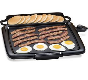 Electric Nonstick Griddle With Warming Tray for Sale in Elmira, NY