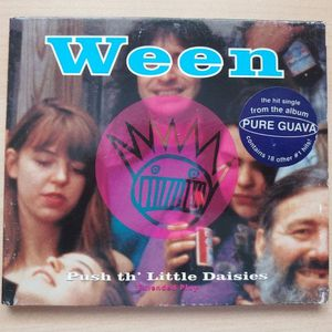 Ween Push Th' Little Daisies Extended Play CD Compact Disc Maxi Single 6 Song Promo From Album Pure Guava Vintage Original Circa 1993 White Records for Sale in Scottsdale, AZ
