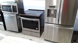 Stainless steel kitchen set for Sale in TWN N CNTRY, FL