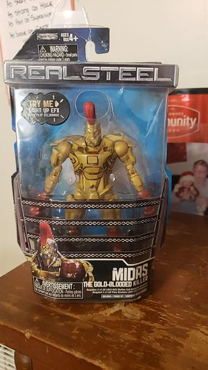 Midas realsteel action figure first edition for Sale in Smithfield, NC