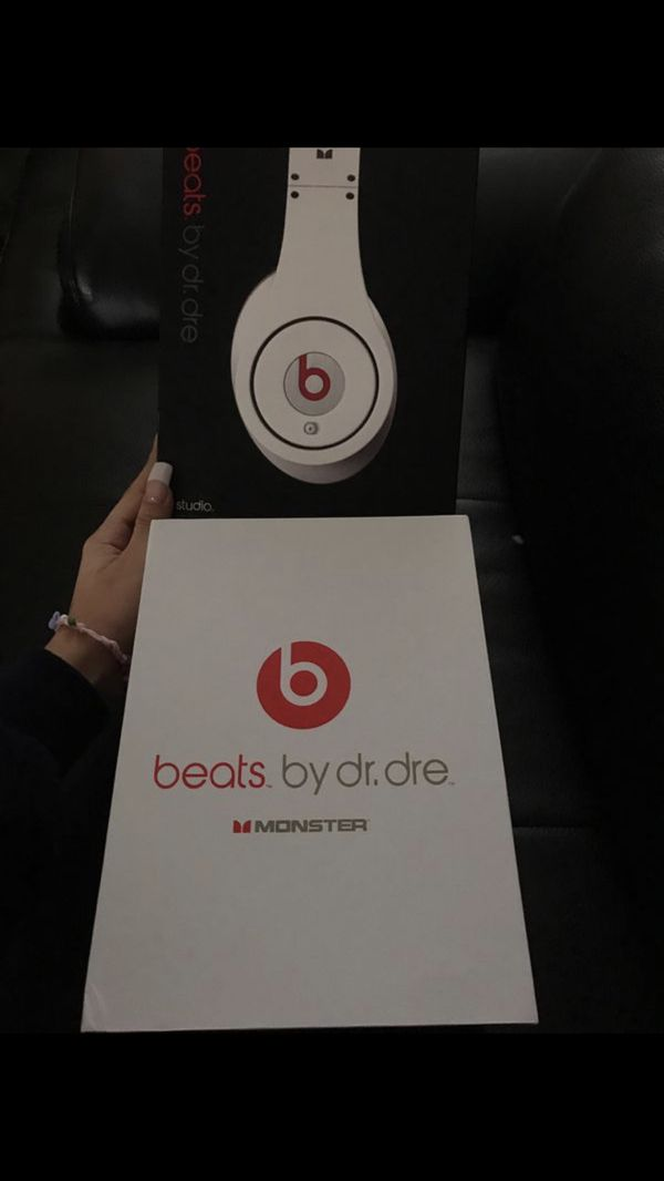 NEW Studio beats by Dr. Dre