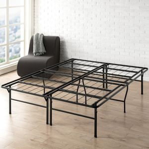 Best Price Mattress 18 Inch Metal Platform Bed Frame Twin size for Sale in Houston, TX