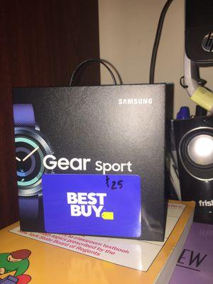 Samsung smart watch gear sport for Sale in Brooklyn, NY