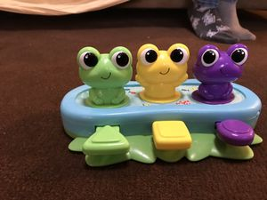 Musical frog baby toy for Sale in San Diego, CA