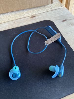 Sony - Save 35%- Wireless Noise Cancelling In-Ear Headphones - Blue for Sale in Gibbsboro, NJ