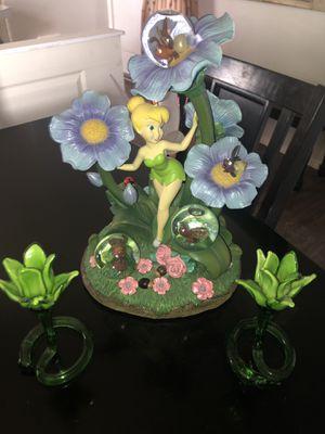 Beautiful Disney Tinkerbell Firefly snow globe for Sale in Sheridan, OR
