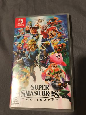 Super smash Bros. Ultimate for Sale in Rowland Heights, CA