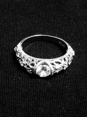 Sterling Silver Swirl CZ Ring for Sale in Las Vegas, NV