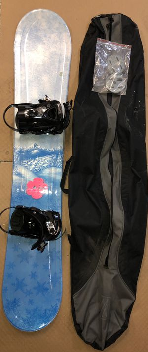 Snowboard & Bindings (LTD & Ride) for Sale in Auburn, WA