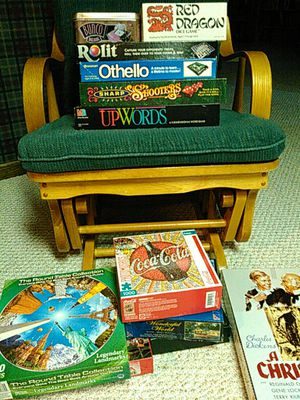 Board games and puzzles, bunco rolit Othello up words for Sale in Maplewood, MN