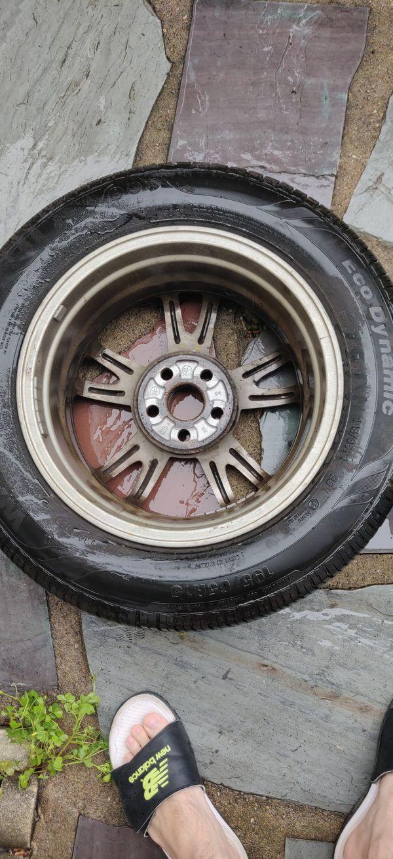 OEM Toyota Prius wheels!
