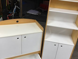 Baby Changing Table And Matching Bookshelf for Sale in Altadena,  CA