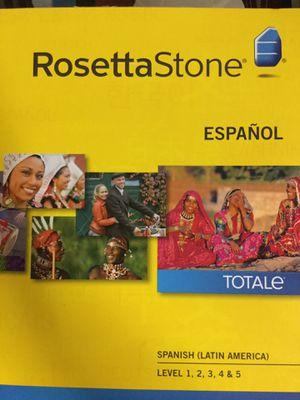 Rosetta Stone levels 1,2,3,4,5 (Latin America) for Sale in Pompano Beach, FL