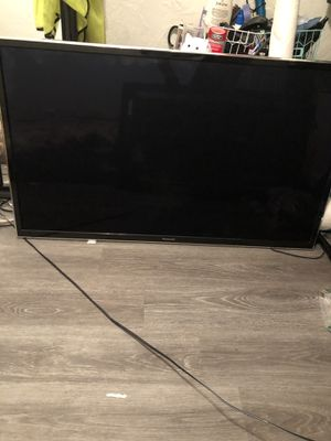 55' Panasonic Tv No Remote for Sale in Long Beach, CA